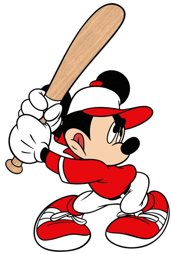 Baseball Mickey Mouse Cartoon Mickey Mouse Images Mickey