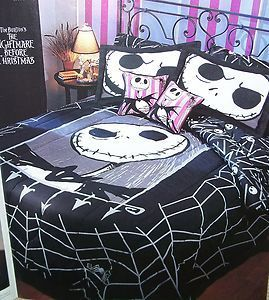 Nightmare Before Christmas Bedding Full Queen Comforter Cover ...