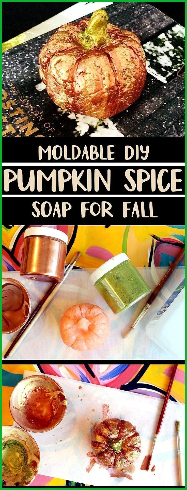 DIY Pumpkin Spice Soap you id a fun weekend DIY Thanksgiving Soap …