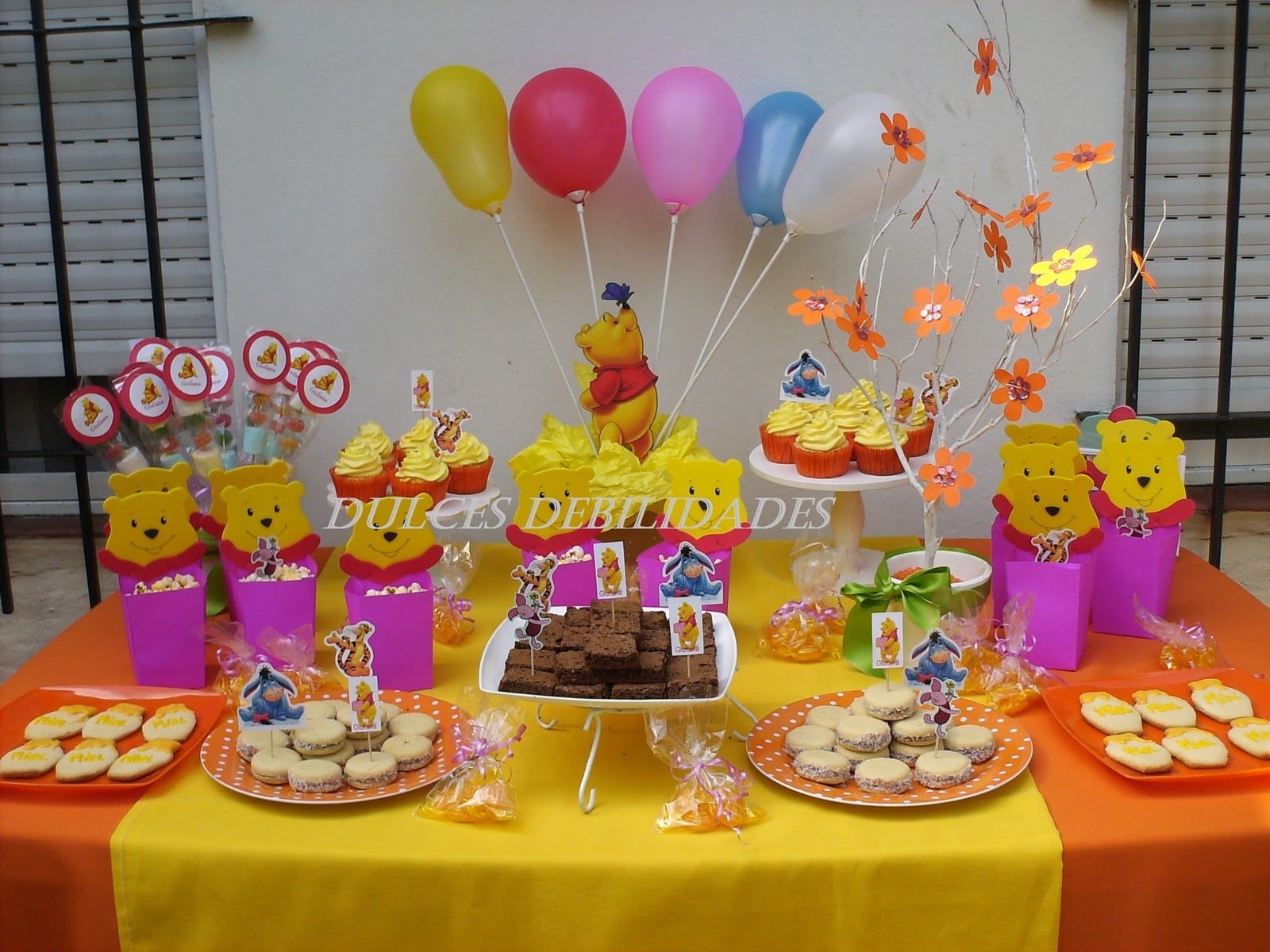 Mario Party Ideas for Centerpieces | DECORACION FIESTA WINNIE POOH ...