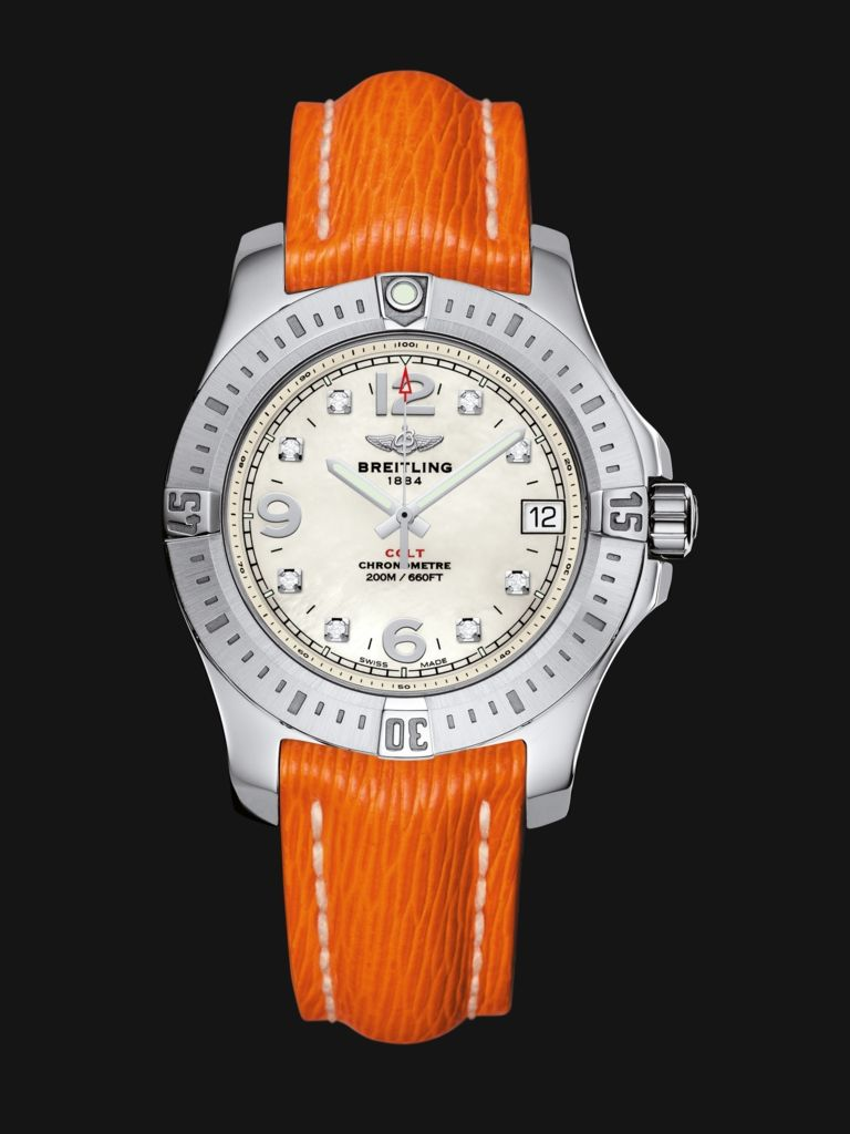 With its 36 mm diameter, Colt ticks to women's time while maintaining its legendary sturdiness, functionality and readability. Versions