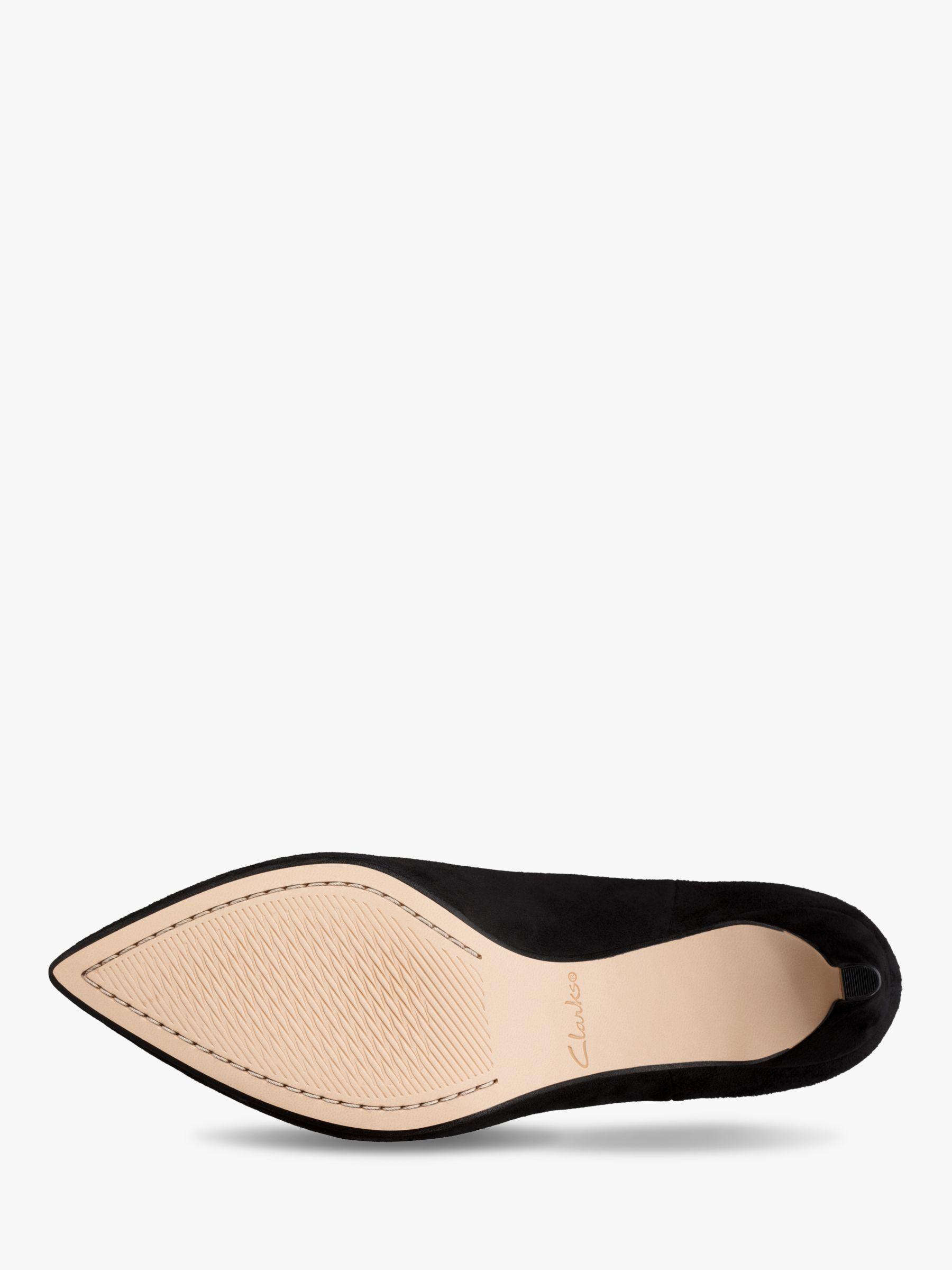 Clarks Laina 55 Kitten Heel Suede Ankle Boots Black In 2020 Black Ankle Boots Suede Ankle Boots Boots