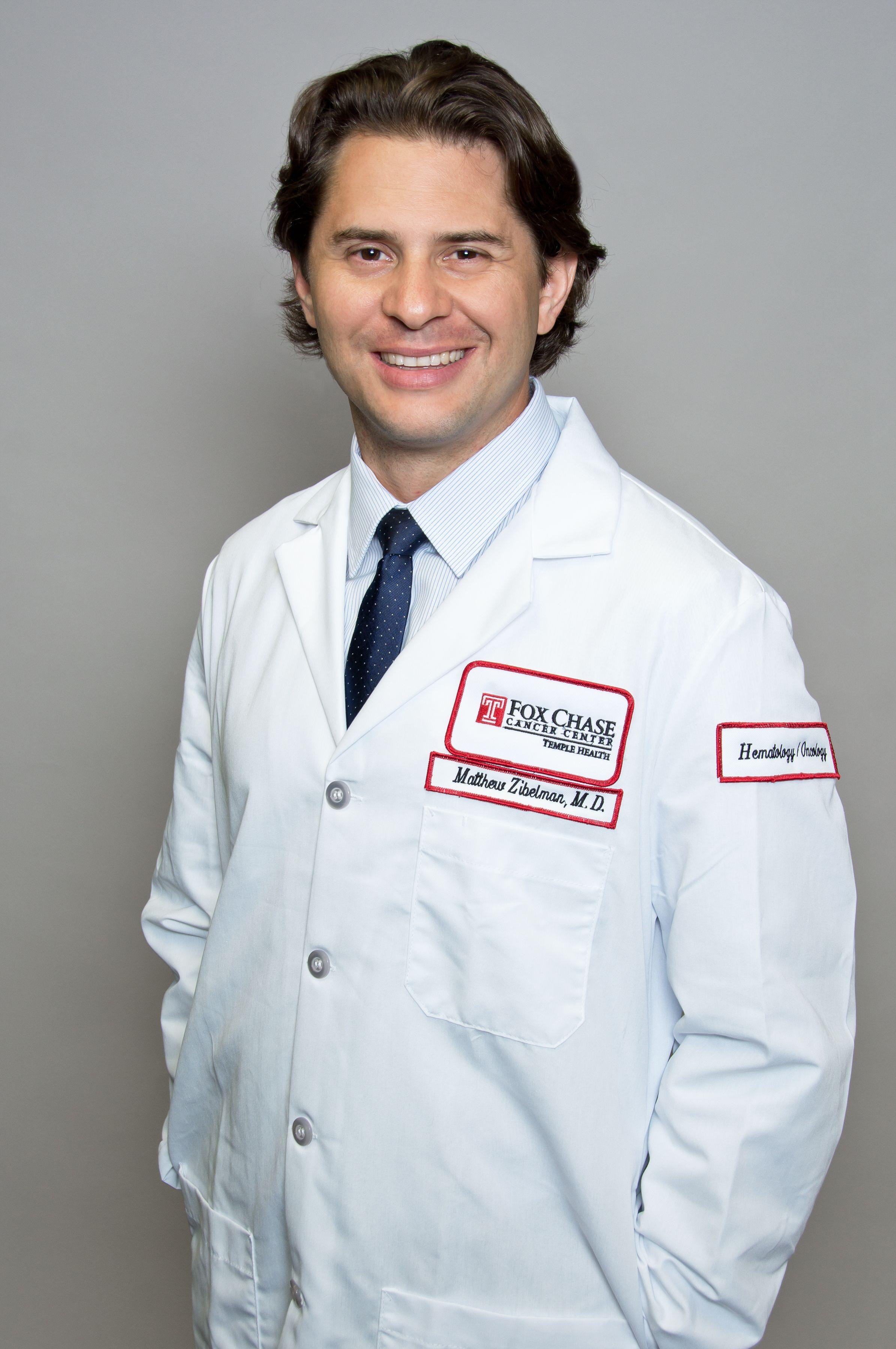 Matthew R. Zibelman, MD, is part of the department of