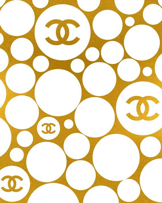 chanel or bulles ♛BOUTIQUE CHIC♛ Chanel wallpapers