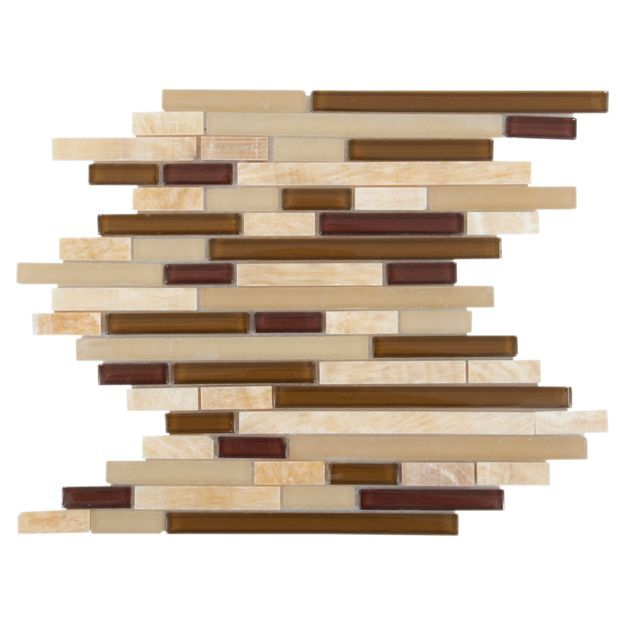 Floor Decor Tile Wood Stone Pleasing Buenos Aires Mix Linear Glass And Stone Mosaic  Buenos Aires Decorating Design