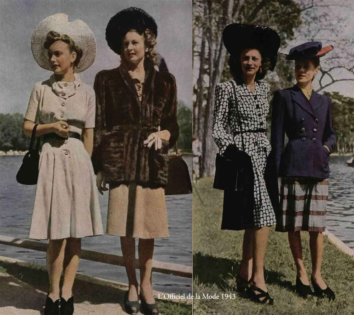 History of Womens Fashion - 1940 to 1949   clothing ...