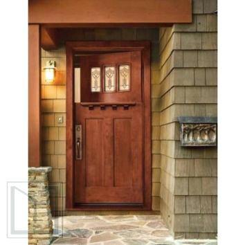 Jeld Wen Doors Wen Cherry Craftsman Dutch Door Cherry Finish Jeld