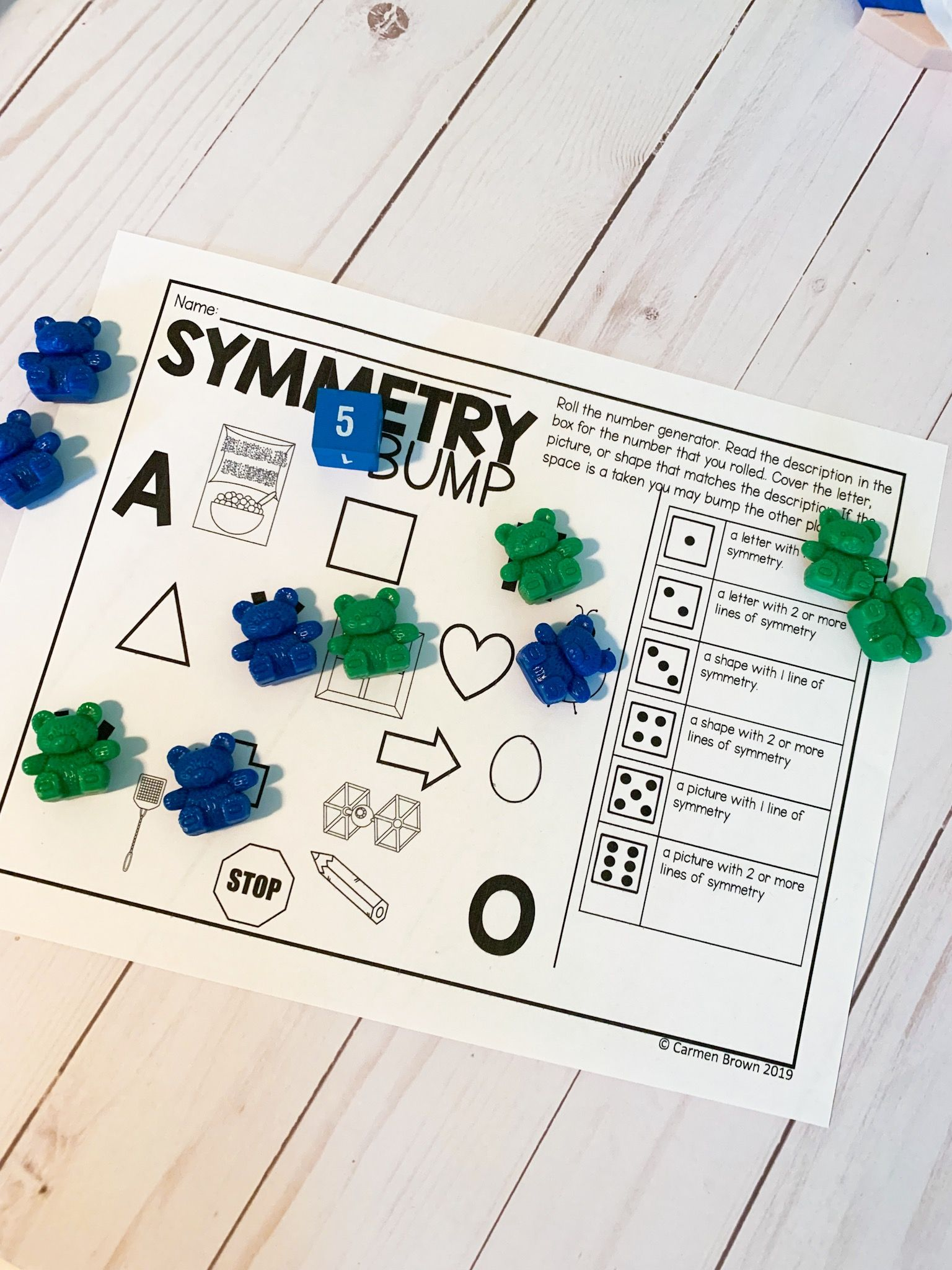 Hands On Symmetry Activities To Engage All Learners