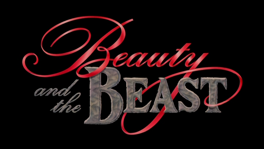 Movie Title Cards Disney Beauty And The Beast Beauty And The Beast Beauty And The Beast Movie