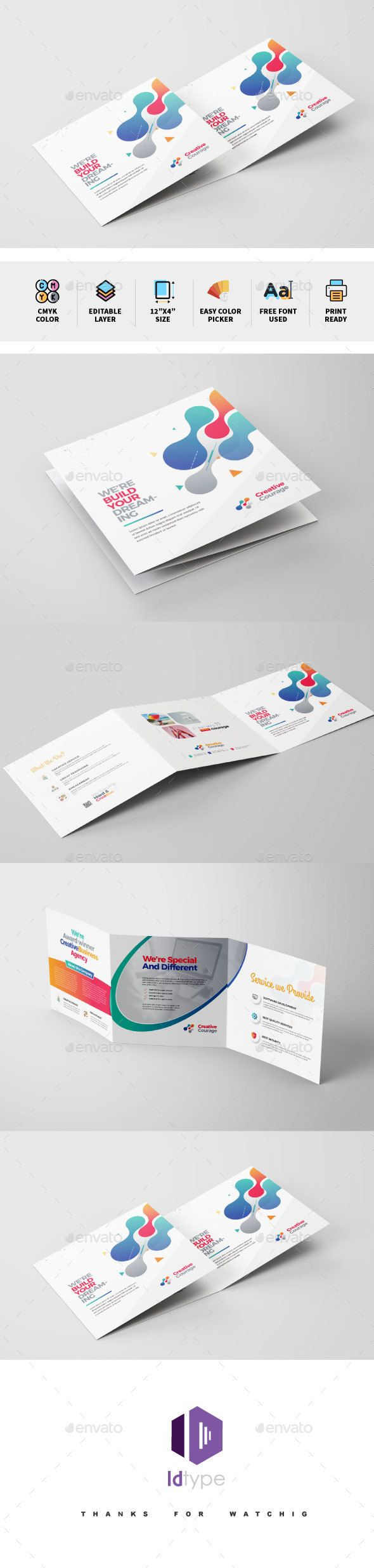 tri fold brochure template illustrator - Emayti