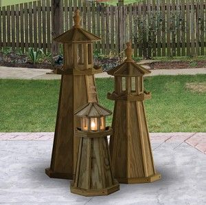 lighthouse decor for patios Lighthouses Nautical Dcor A