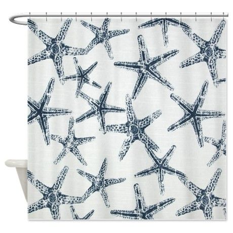Starfish Shower Curtain | Bathroom remodel | Pinterest | Starfish ...