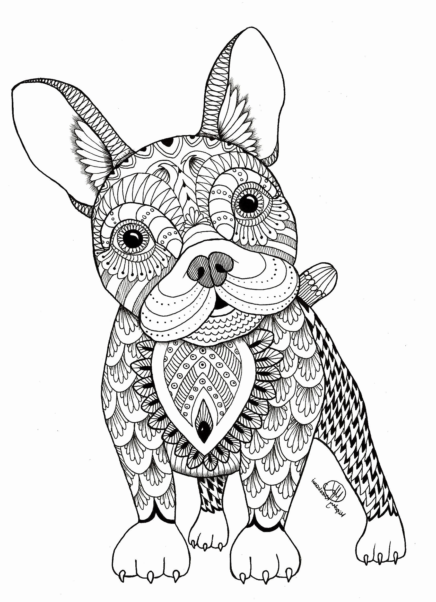 Mandala Animal Coloring Pages Kids Animal Coloring Pages Mandala Coloring Animal Coloring Books
