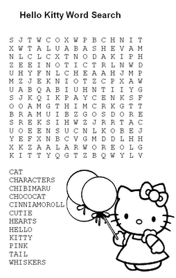 word search | Hello Kitty | Pinterest | Word Search, Words and Search
