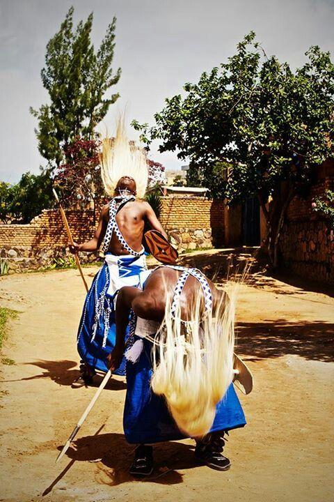 Intore dancers, Rwanda