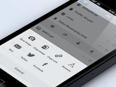 Cloudier Panel #Minimalistic Mobile #UI