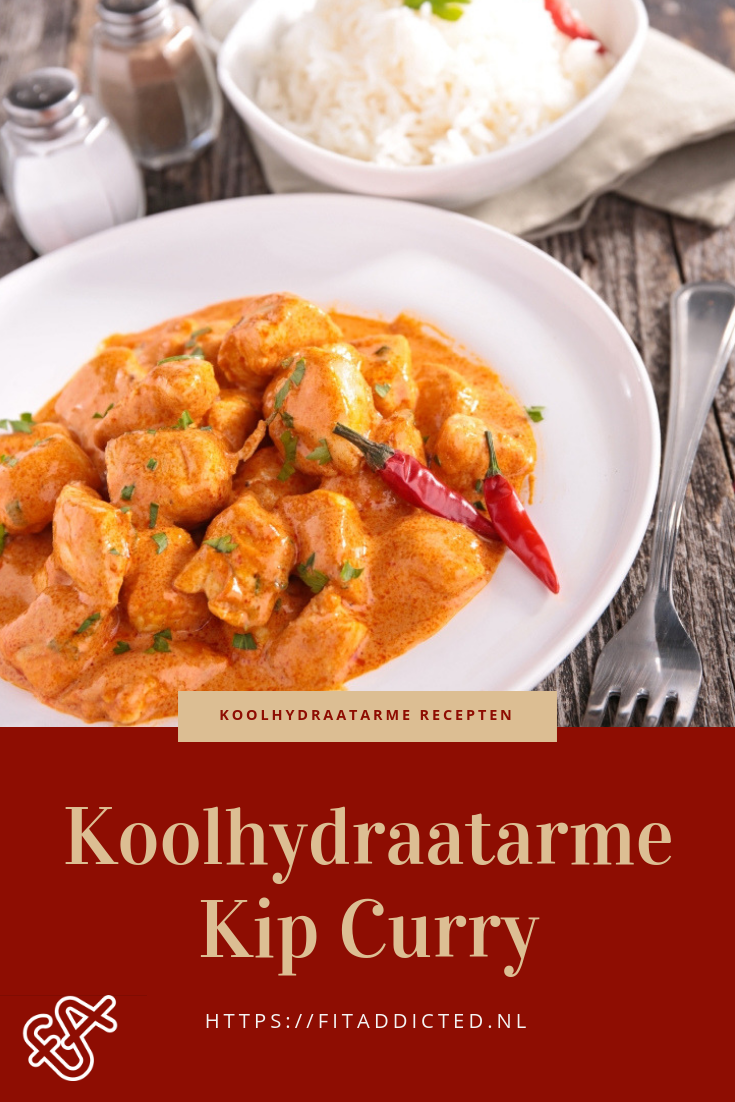 Koolhydraatarme Kip Curry Recept: Hmm onwijs lekker!