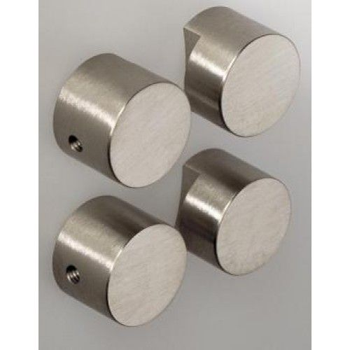Mirror Brackets (4), Satin Stainless Steel