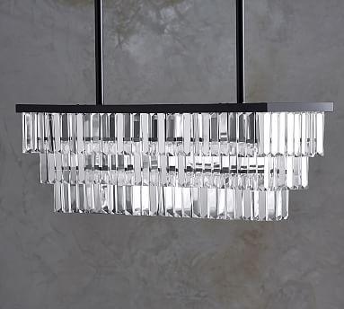Gemma chandelier rectangle