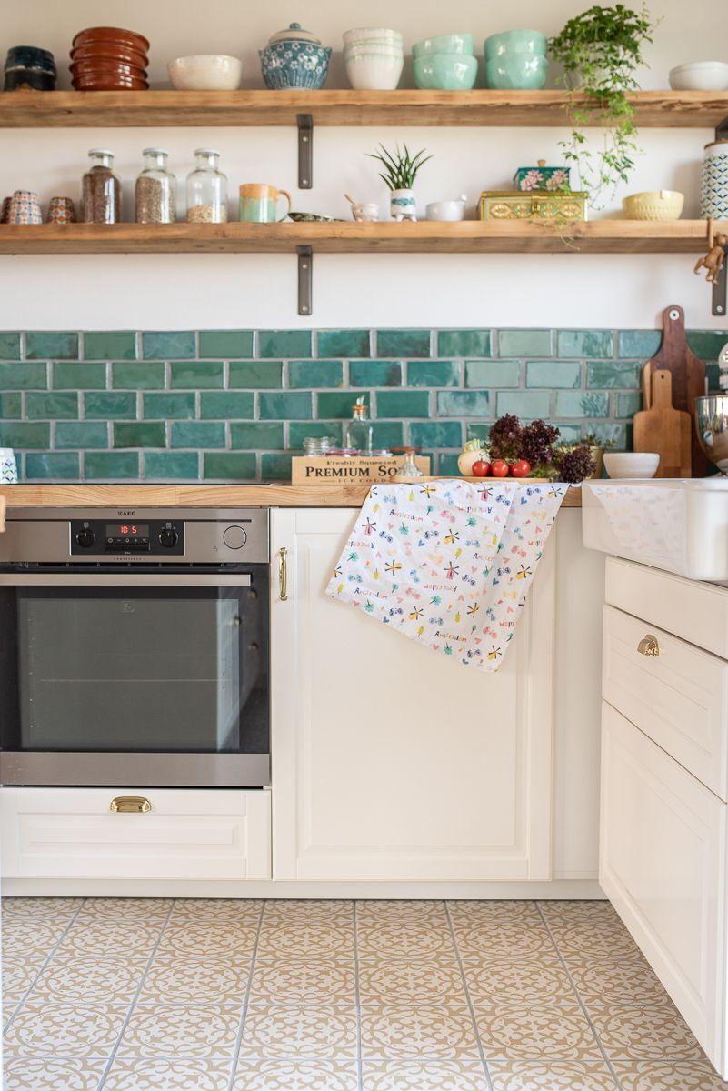 Nach der Renovierung - Bilder aus der neuen Küche - Leelah Loves #vintage