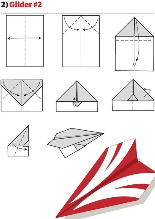Paper Airplanes  Glider   Crafts For Kids