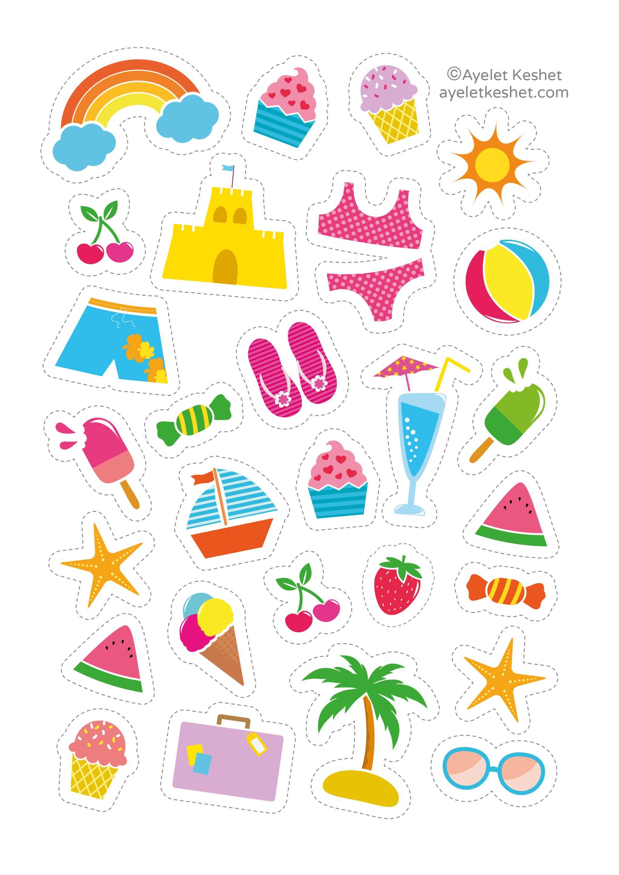 Free Printable Stickers Com Imagens Adesivo Para Planner