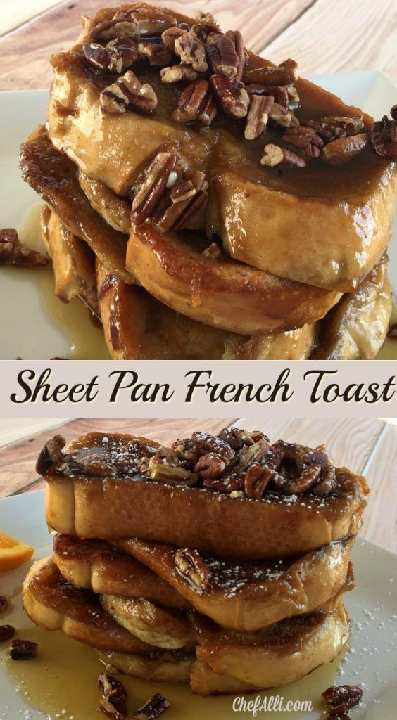 Photo of This is the most wonderful, easy Sheet Pan French Toast baketo make for a grou…
