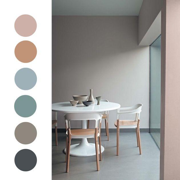CREATIVE LIVING - where Scandinavian Interior Design meet International Trends: Soft pastel color combos