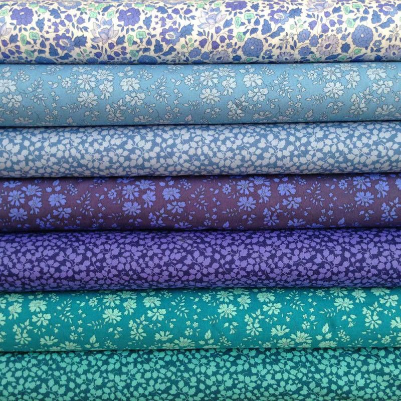 Liberty Fabric Tana Lawn Classics, 6 Fat Quarters, Selection 411 is part of lawn Dress Liberty Fabric - Liberty Fabric, patterns, kits, Liberty Tana Lawn  Liberty of London fabric online
