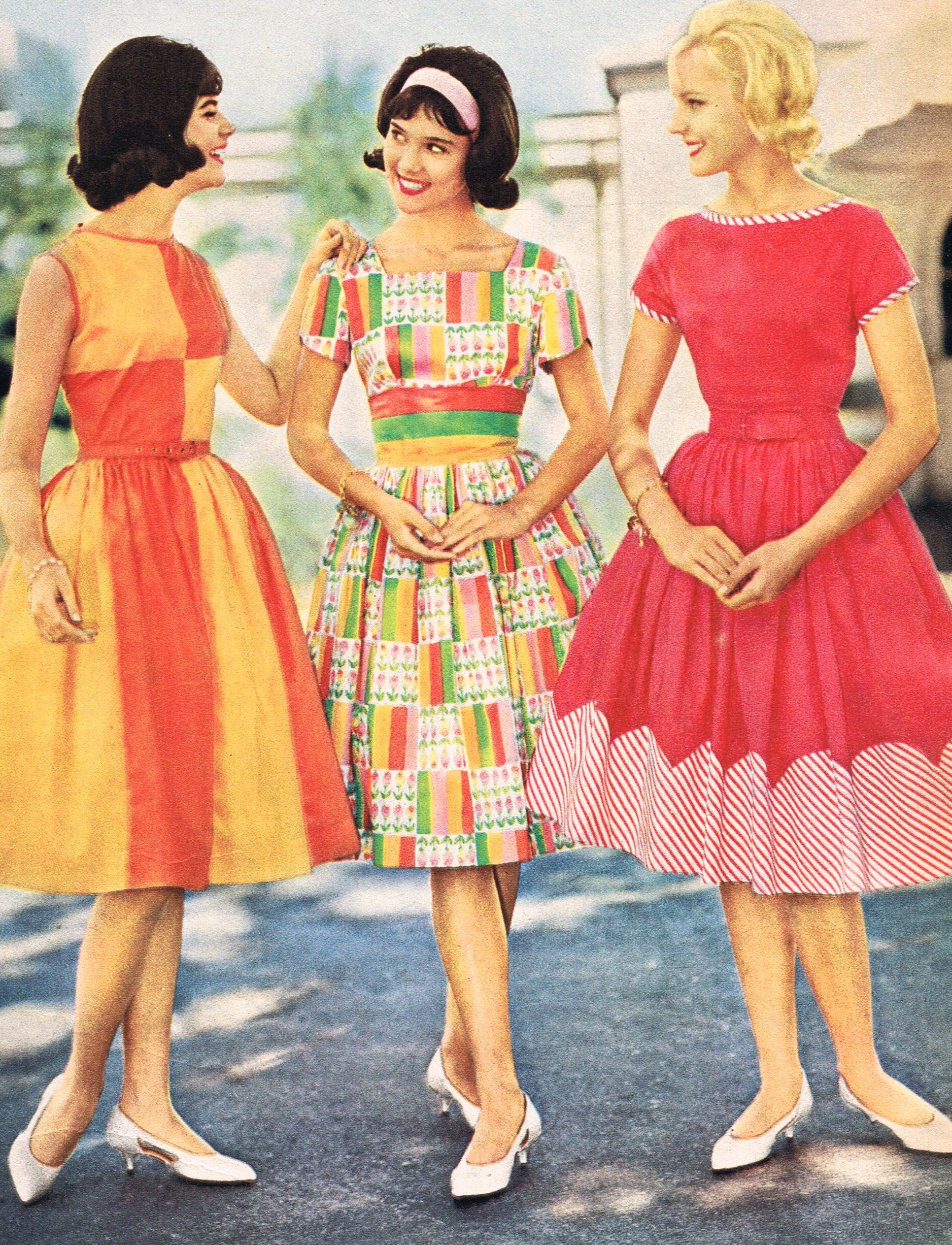 teen fashion, Spiegel 1962