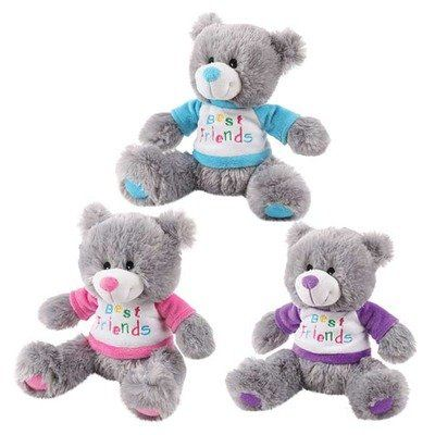 Zanies Bff Bear Dog Toy Purple Pet Lovers Ads Bear Dog Pet