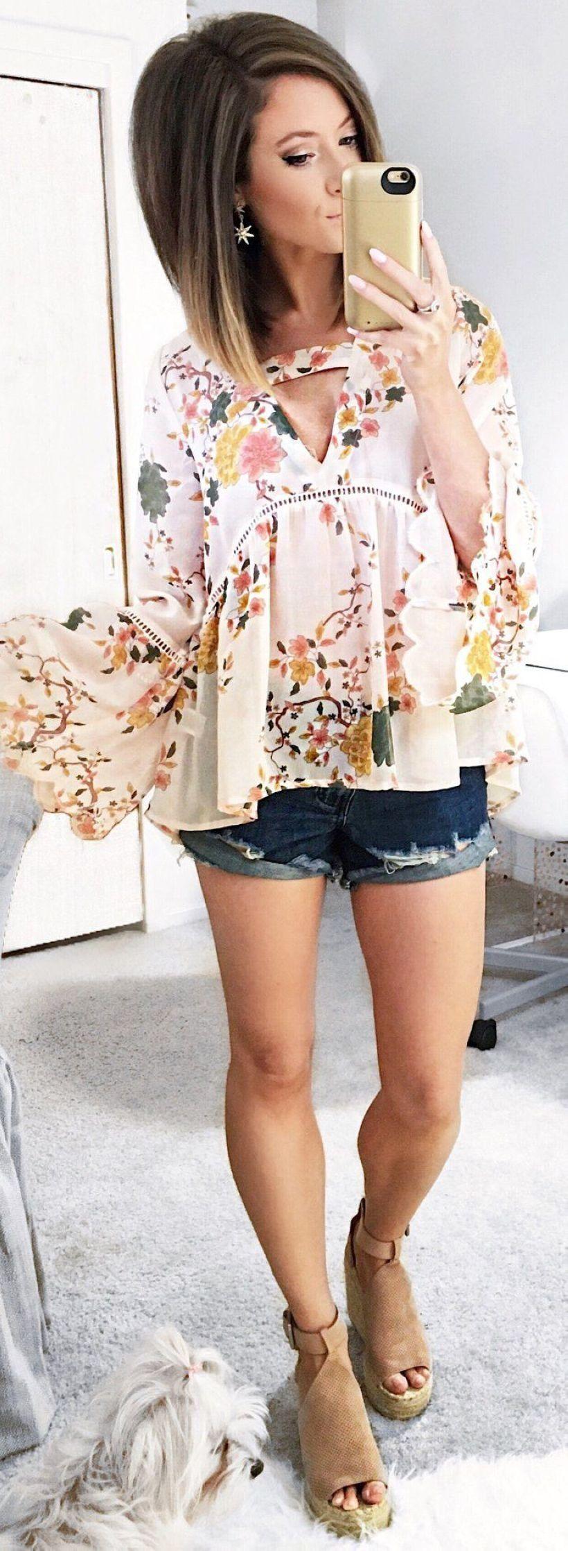 50 migliori abiti estivi con pantaloncini di jeans – colection201.de