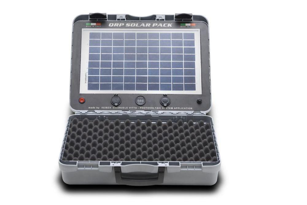 Qrp solar pack valigia fotovoltaica fotovoltaico portatile - Fotovoltaico portatile ...