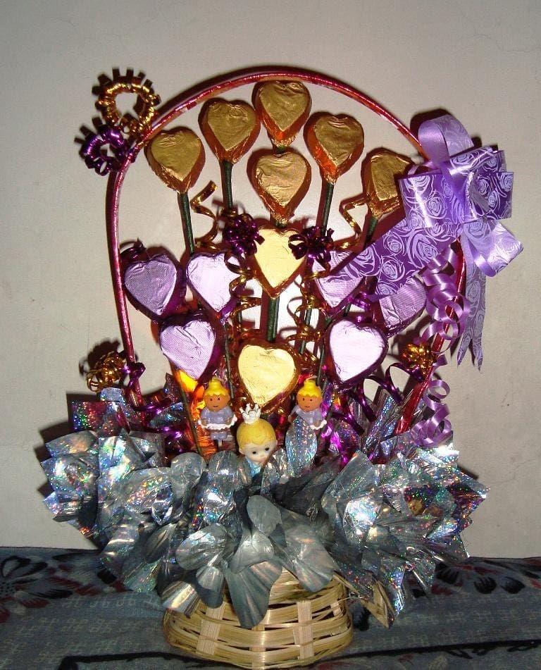 Chocolate Baskets😍 . . .
