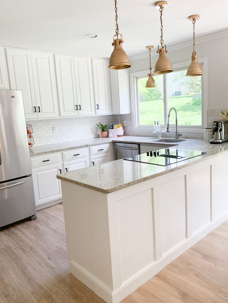Painting Kitchen Cabinets White - Kitchen Reveal