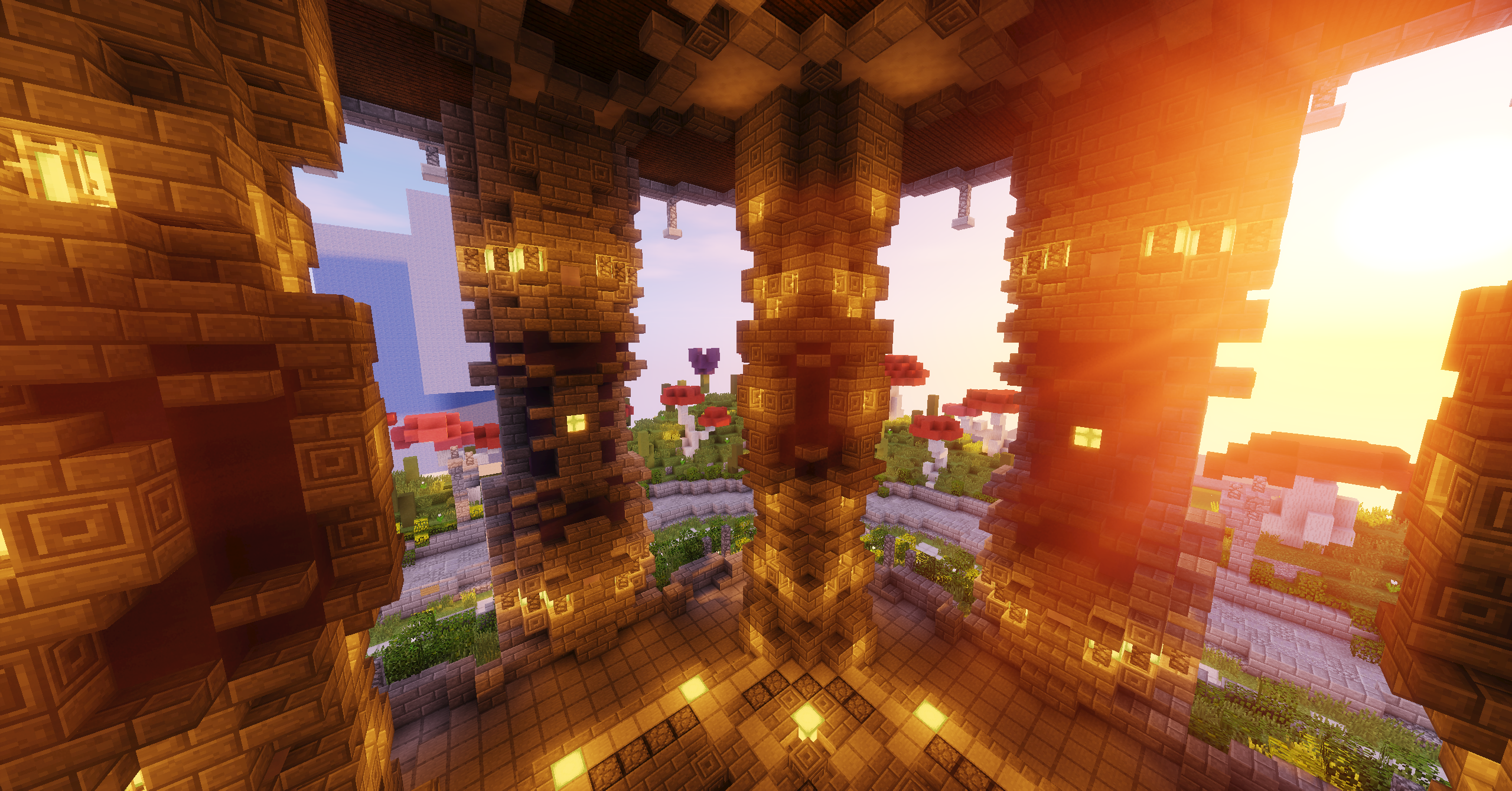 Creative-spawn -lollyherz- #minecraft #map #spawn #hub #lobby ...