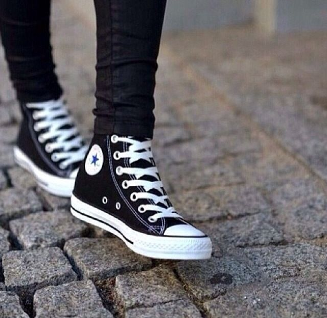 Converse and skinny jeans perfect