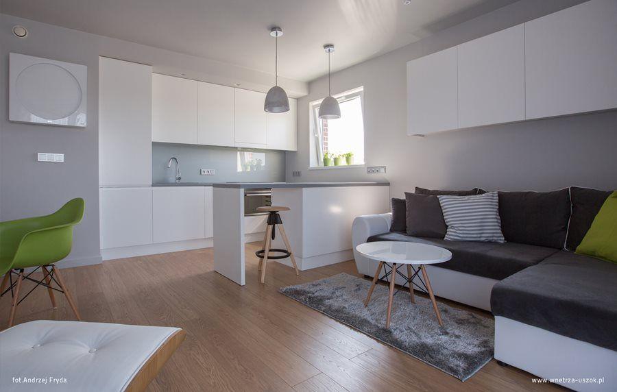 Aranzacja Kuchni W Salonie Inspiracja Homesquare Home Modern Apartment Home Decor