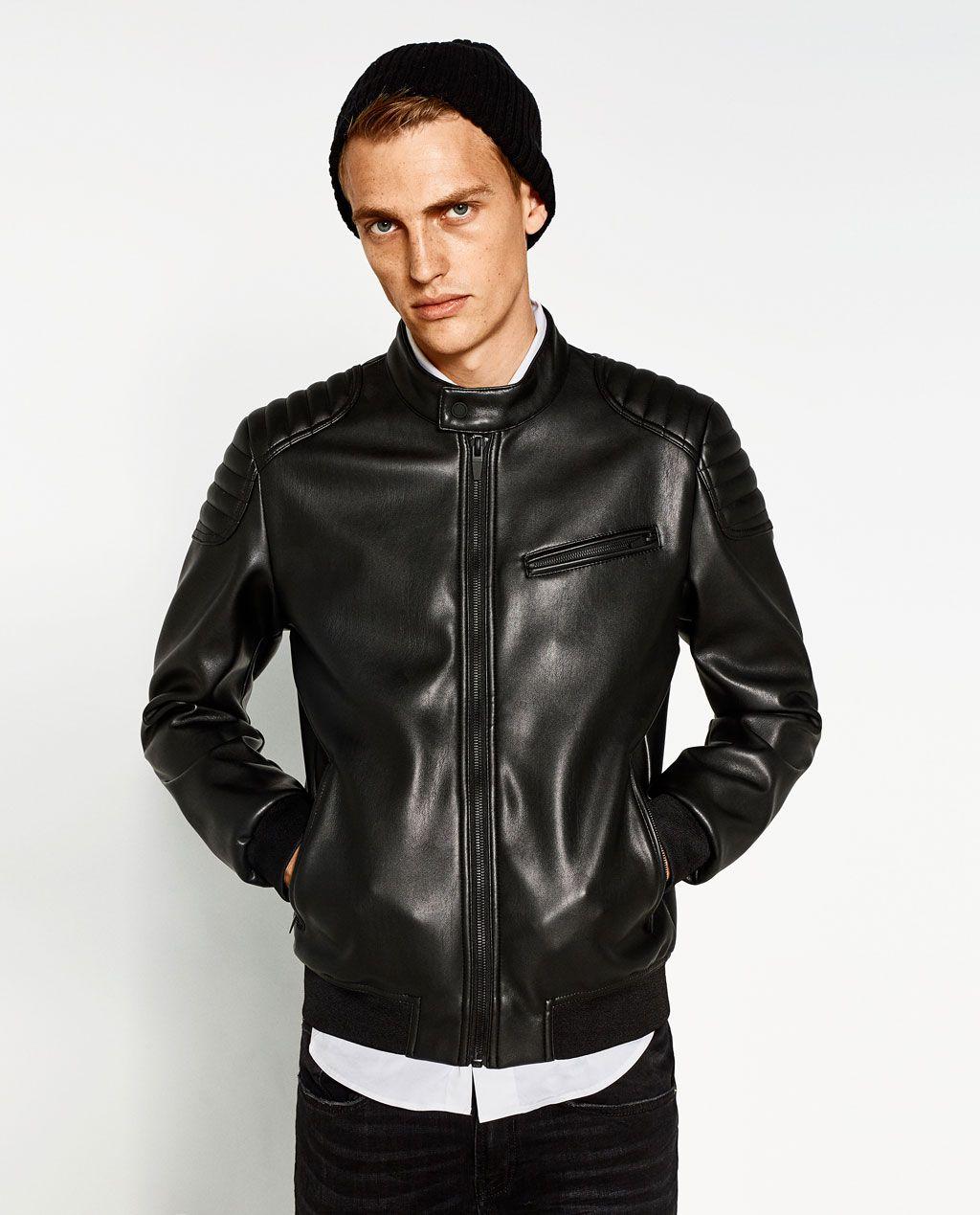 2018 style Imagen CAZADORA jackets Zara en de de 3 BIKER q0qpUzw