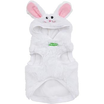 Pet A Tude Bunny Outfit In Xl Petco Com Dog Hoodie Petco Bunny Face