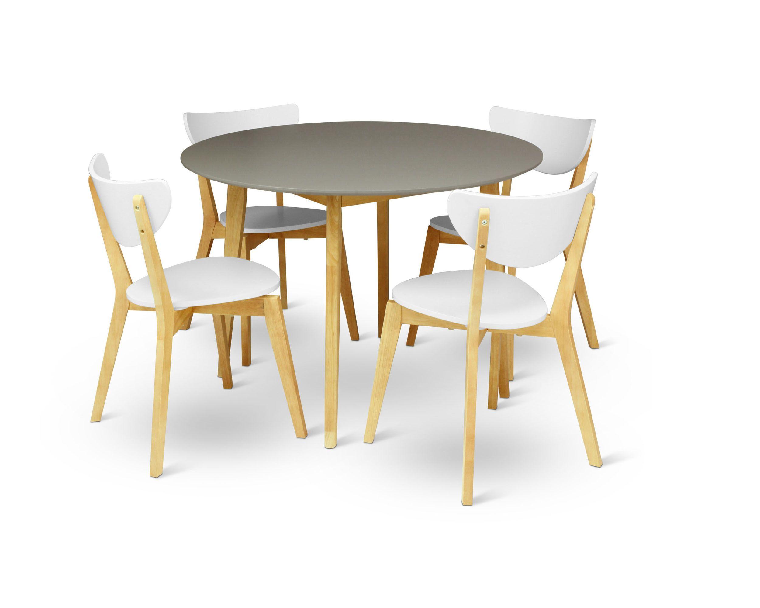Arthur 5 Piece Dining Set Coffee table, Scandinavian