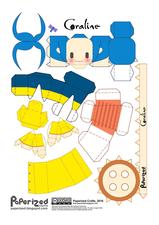 CoralinePaperized.pdf Google Drive Coraline, Crafts, Map