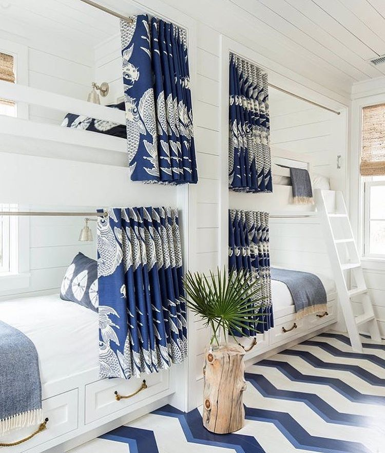 Attractive Spruce Up A Bedroom With These Creative Beach Bunk Beds