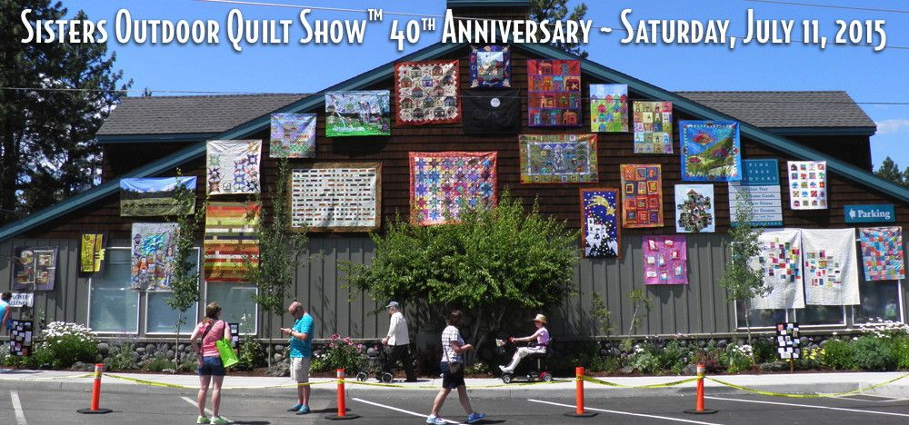 Sisters Outdoor Quilt Show - Sisters, Oregon | Pacific Northwest ... : quilt shop sisters oregon - Adamdwight.com