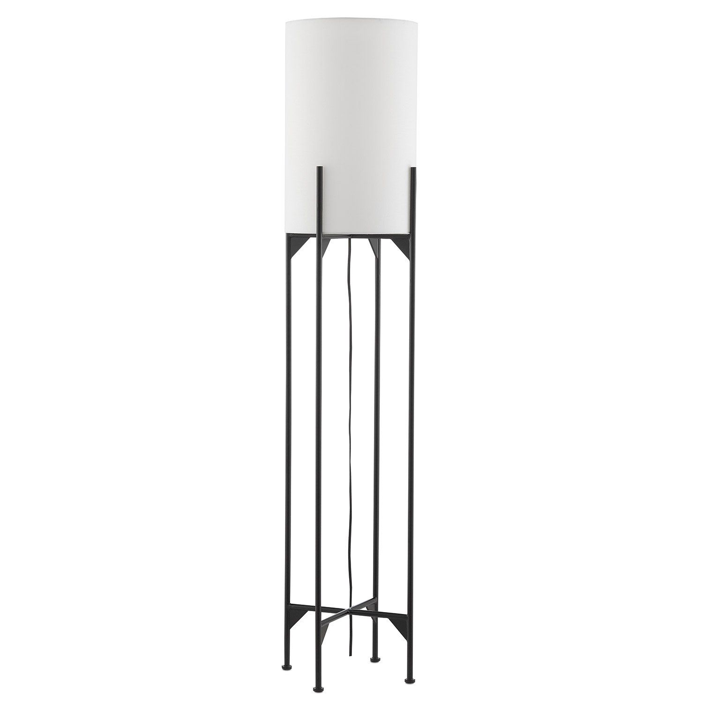 Currey Co Holland Floor Lamp Floor Lamp Lamp Black Lamps