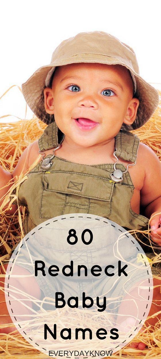 80 Redneck Baby Names - EverydayKnow.com #babynamesboy