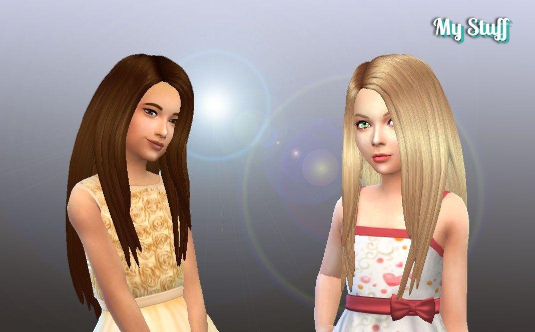 girls hairstyles videos app Sims hair, Sims 4 children