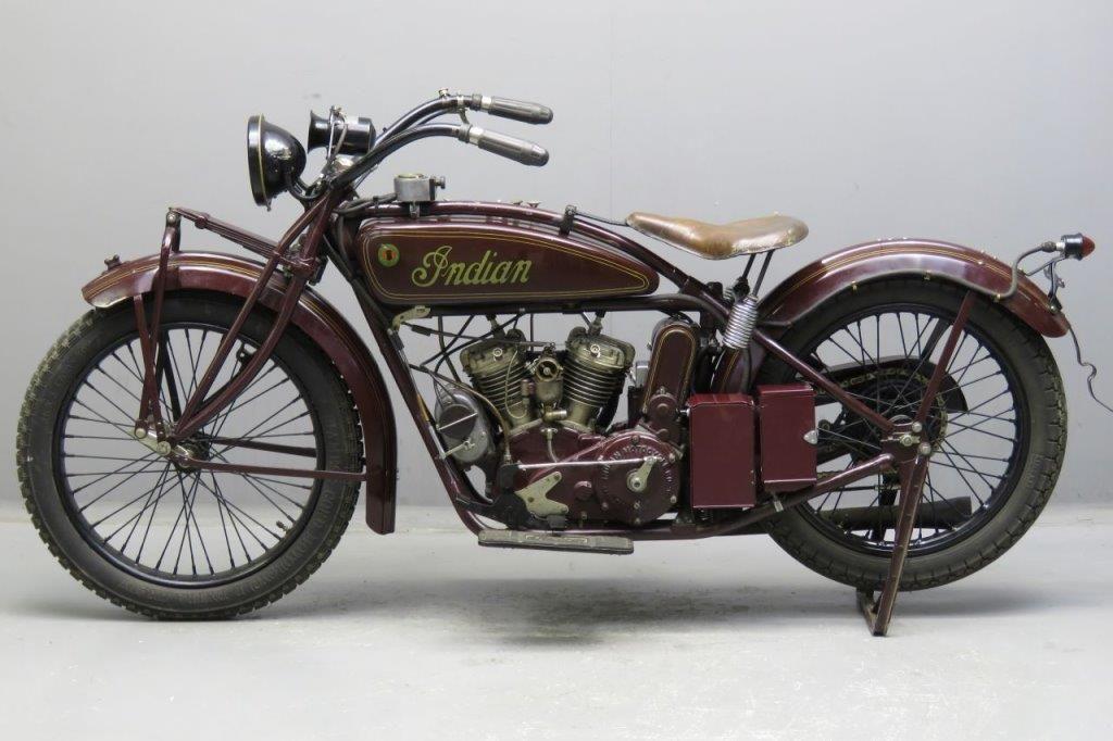 Indian 1925 Scout 600cc Motos Antigas Motos