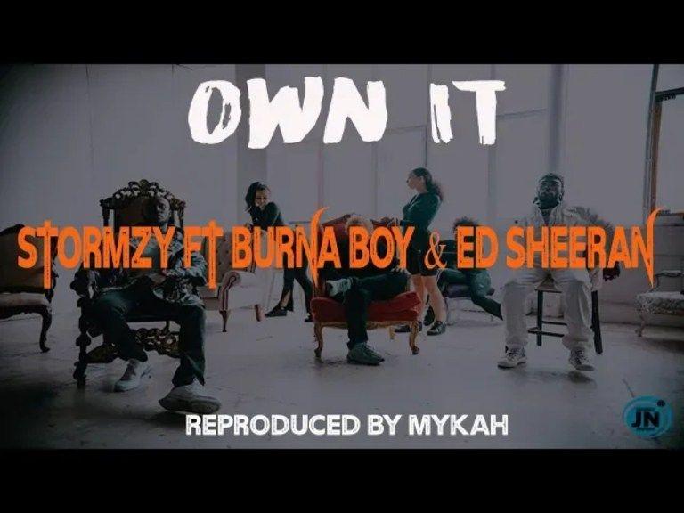 Download Instrumental Stormzy Ft Burna Boy Ed Sheeran Own It