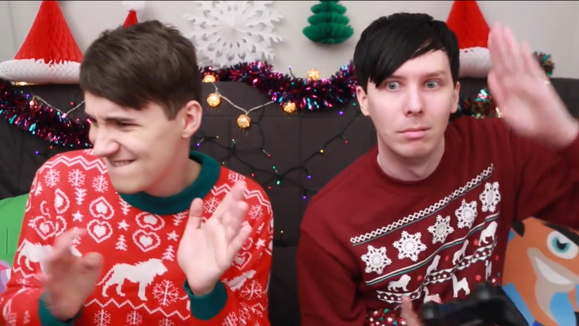 Dan And Phil Christmas Sweater.Pin By Bianca Beilschmidt On Dan And Phil Christmas